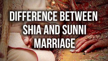 Islam - Sunni Shia Marriage Differences