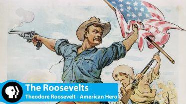 Theodore Roosevelt - Heroic Image