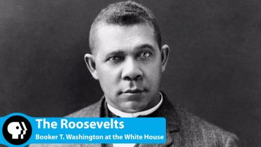 Booker T. Washington - Dinner at the White House