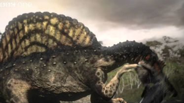 Spinosaurus - Fishing
