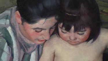 The Child's Bath (Cassatt)