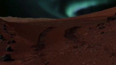 Mars - Aurora Lights