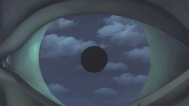 The False Mirror - Restoration (Magritte)
