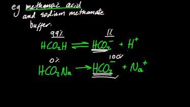 Chemistry - Buffer Solution