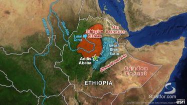 Ethiopia - Geography