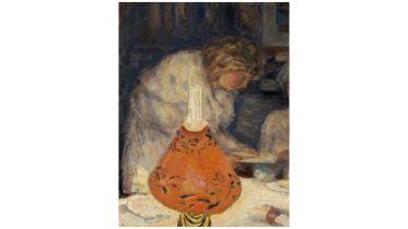 The Orange Light Shade (Bonnard)