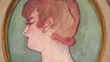 Head of a Girl (Lautrec)