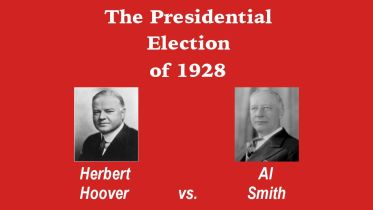 United States Presidential Election - 1928