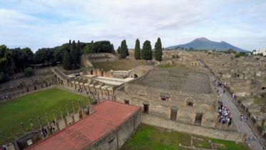 The Roman City of Pompeii - Quadriporticus