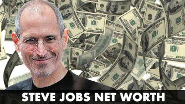 Steve Jobs - Net Worth