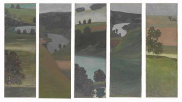 Untitled - Aare Landscape (Klee)