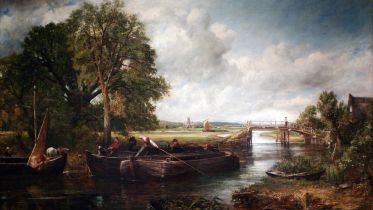 View on the Stour near Dedham (Constable)