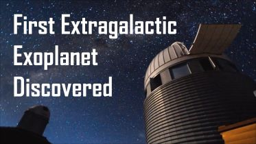 Exoplanet - The First Extragalactic Exoplanet
