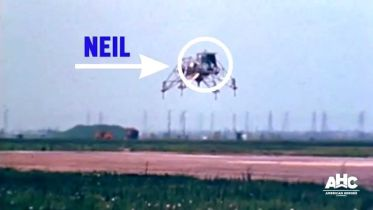 Neil Armstrong - Lunar Landing Research Vehicle Crash