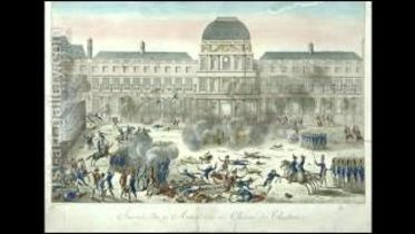 French Revolution - Storming of the Tuileries Palace