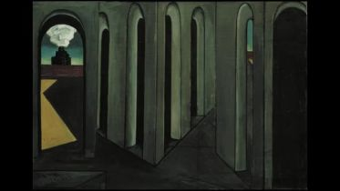 The Anxious Journey (De Chirico)