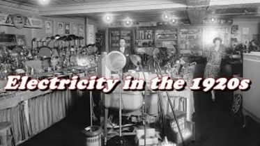 Electricity - Impact on America in the 1920s
