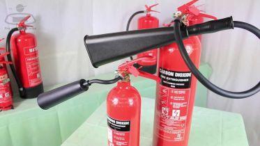 Carbon Dioxide - Fire Extinguisher