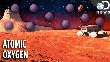 Mars - Atomic Oxygen