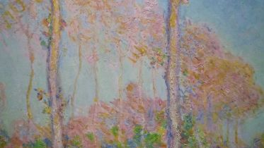 Poplars Series (Monet)