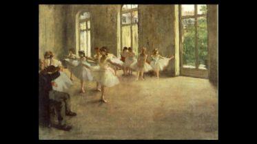 Ballet Rehersal (Degas)