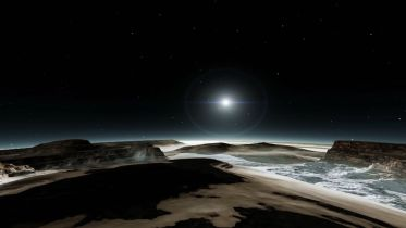 Pluto (Dwarf Planet) - Heated Surface