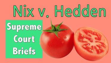 Nix V. Hedden