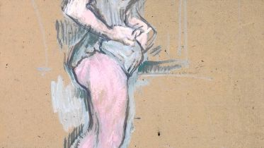 Trapeze Artist from the Cirque Fernando (Lautrec)