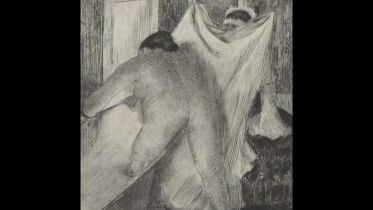 Leaving the Bath (Degas)