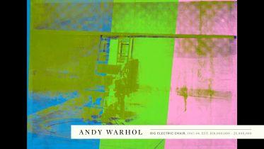 Big Electric Chair (Warhol)