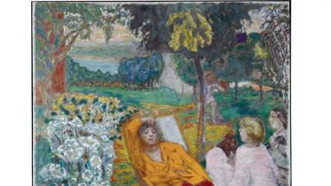 In a Southern Garden (Bonnard)