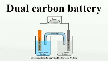 Battery - Dual Carbon Battery