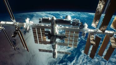 International Space Station - Space Debris
