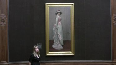 Harmony in Pink and Grey (whistler)
