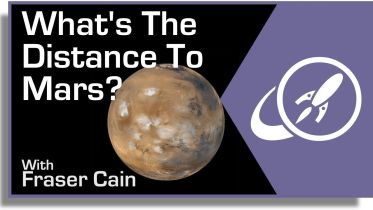 Mars - Distance from Earth