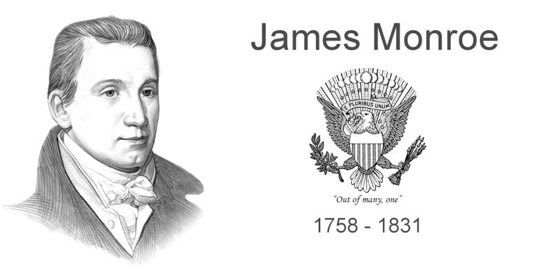 a biography and life work of james monroe 5th president of the united states