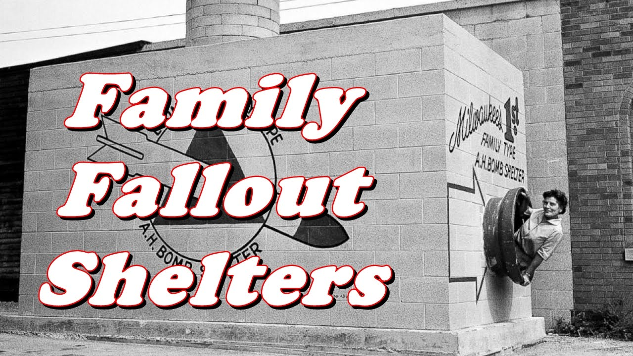 Cold War - Family Fallout Shelters