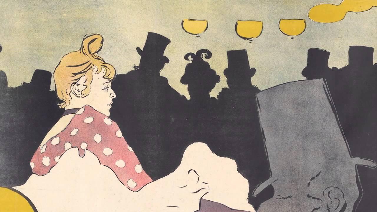 Moulin Rouge: La Goulue (Lautrec)