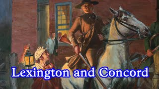 American Revolutionary War - Battles of Lexington and Concord