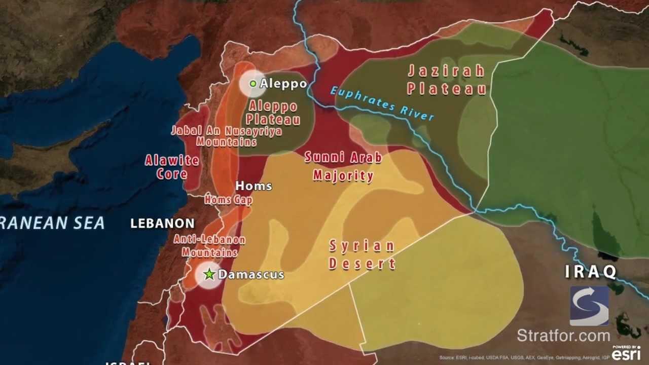 Syria - Geography