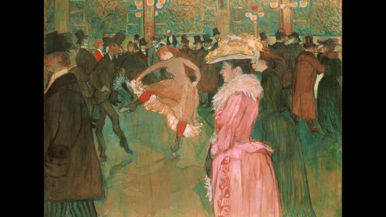 At the Moulin Rouge, the Dance (Lautrec)