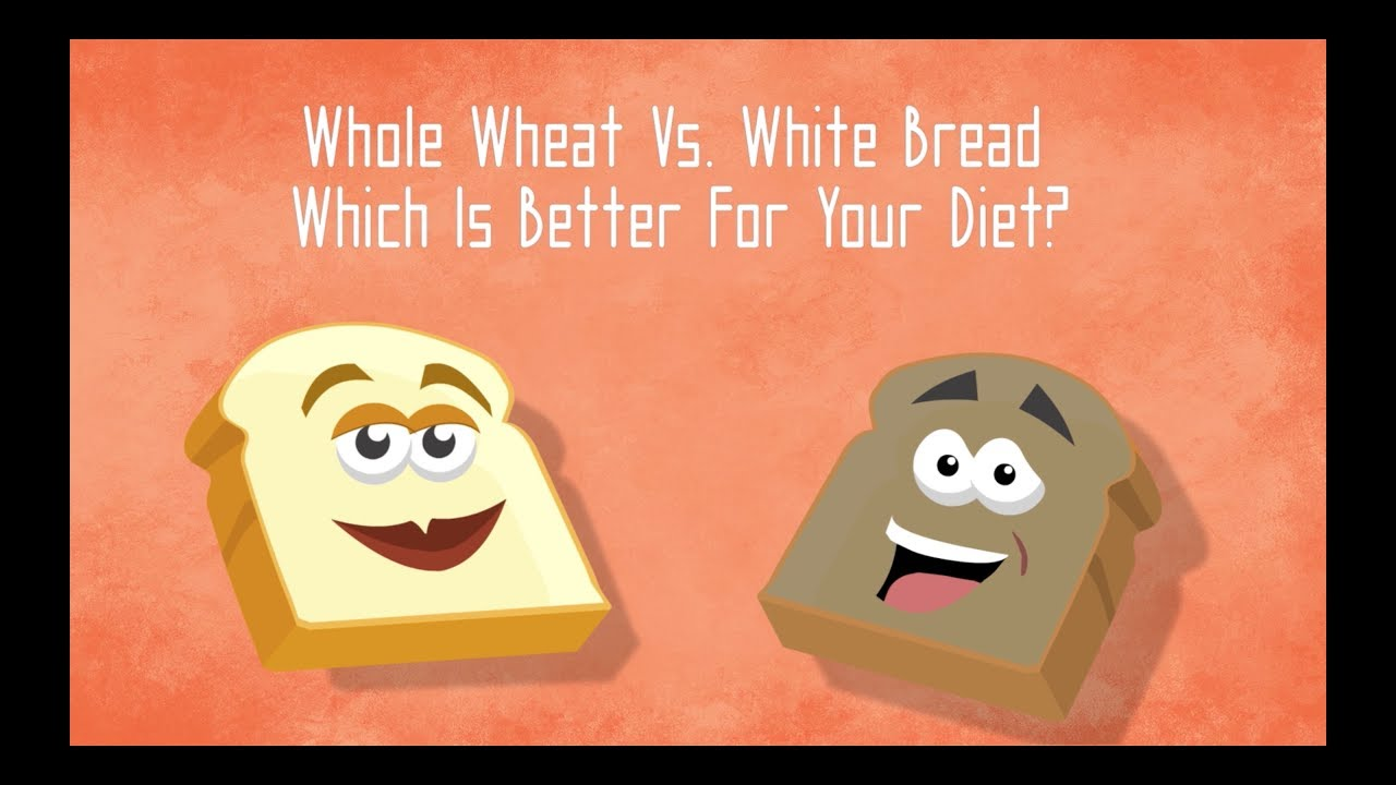 Bread - Whole Wheat V. White Bread