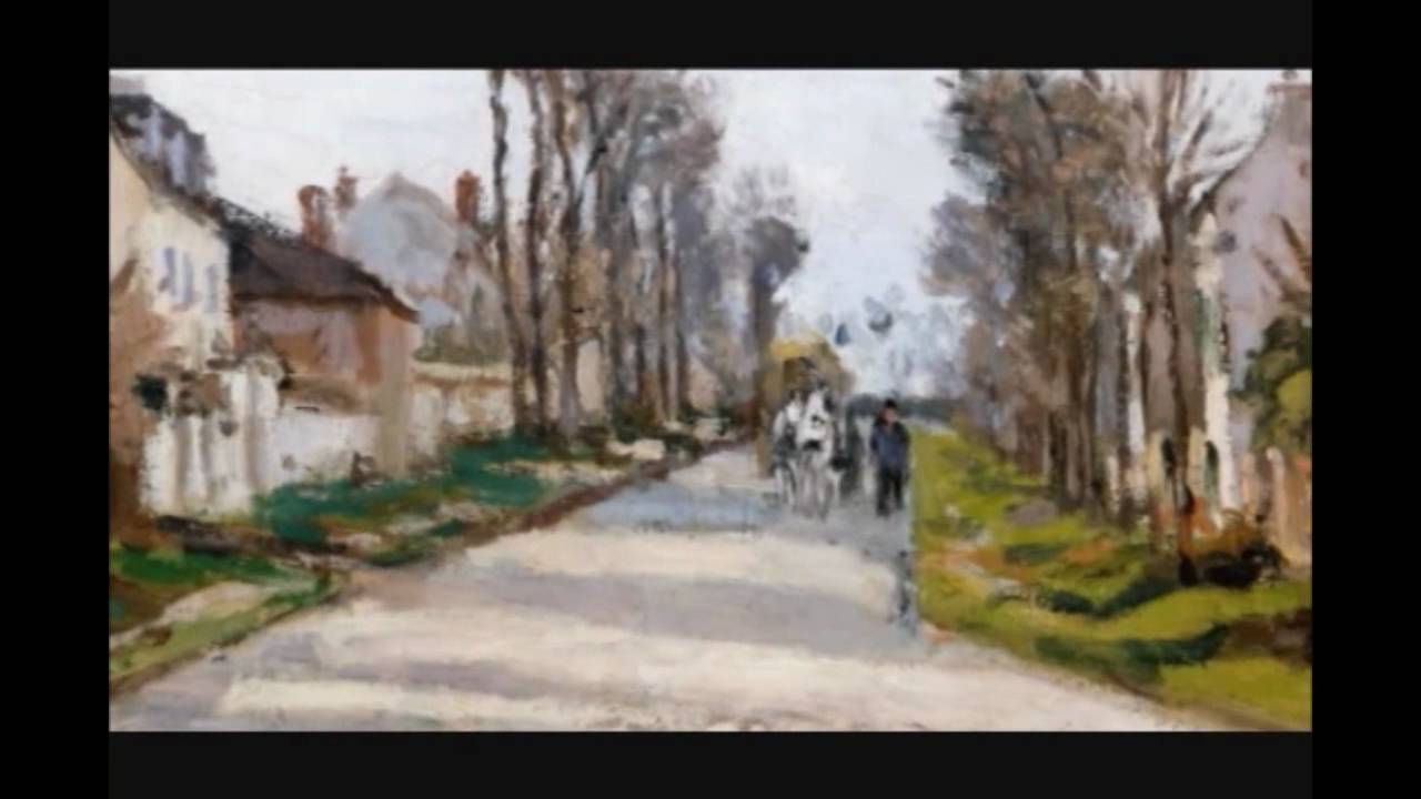 The Road to Versailles at Louveciennes (Pissarro)