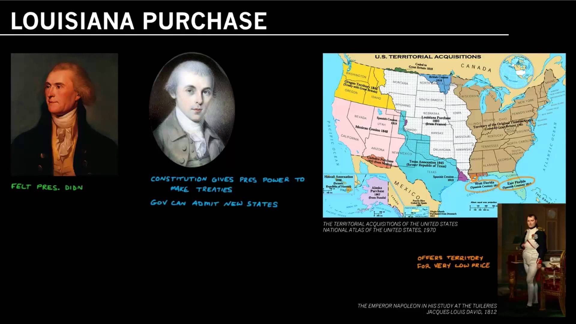 Louisiana Purchase - James Madison