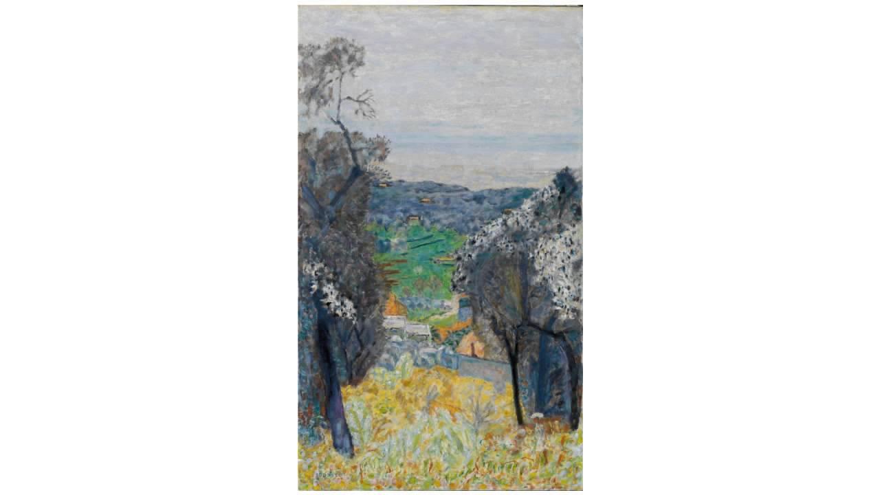 Southern Landscape or Le Cannet Landscape (Bonnard)