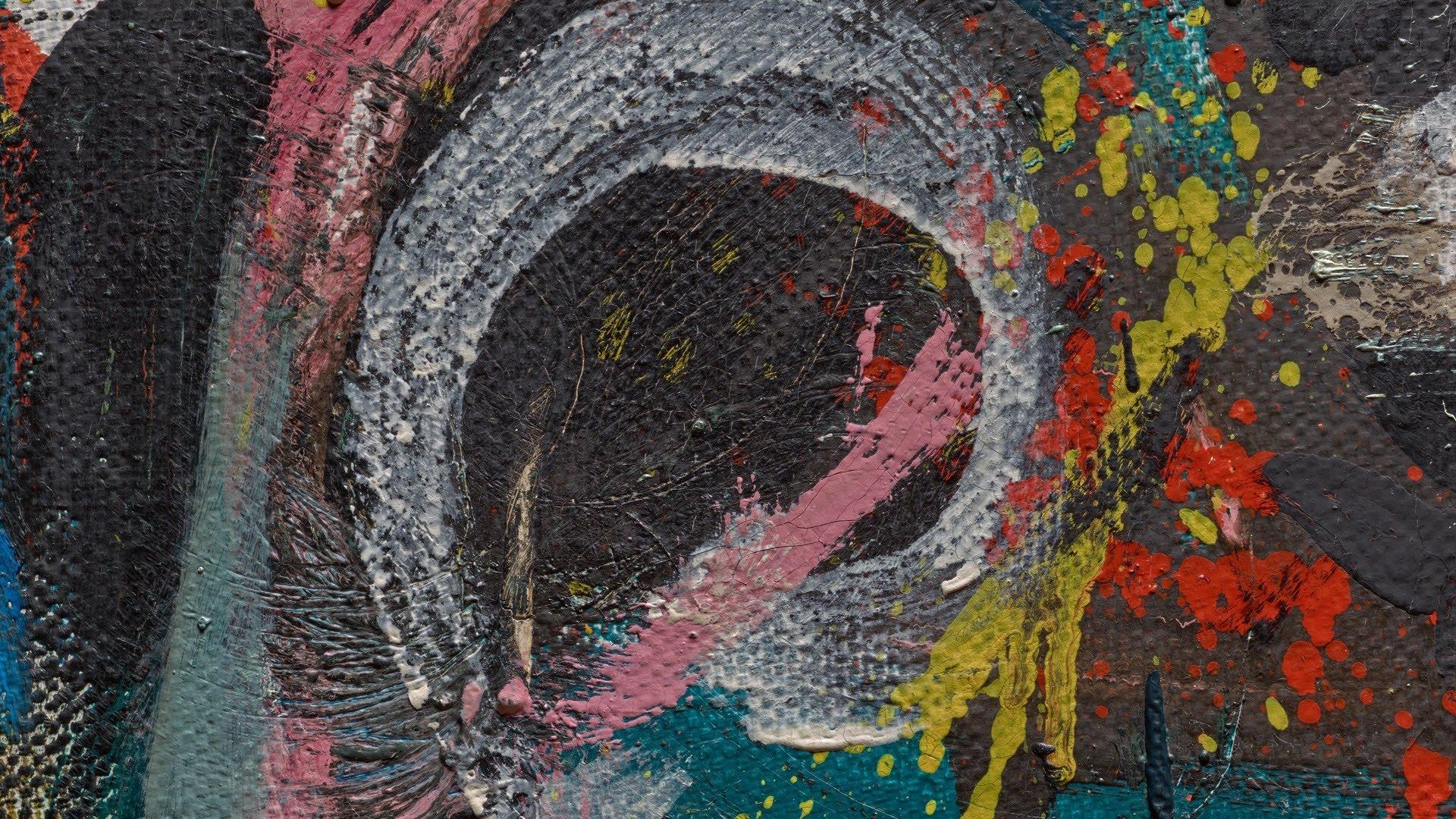 Mural - Paint Analisys (Pollock)