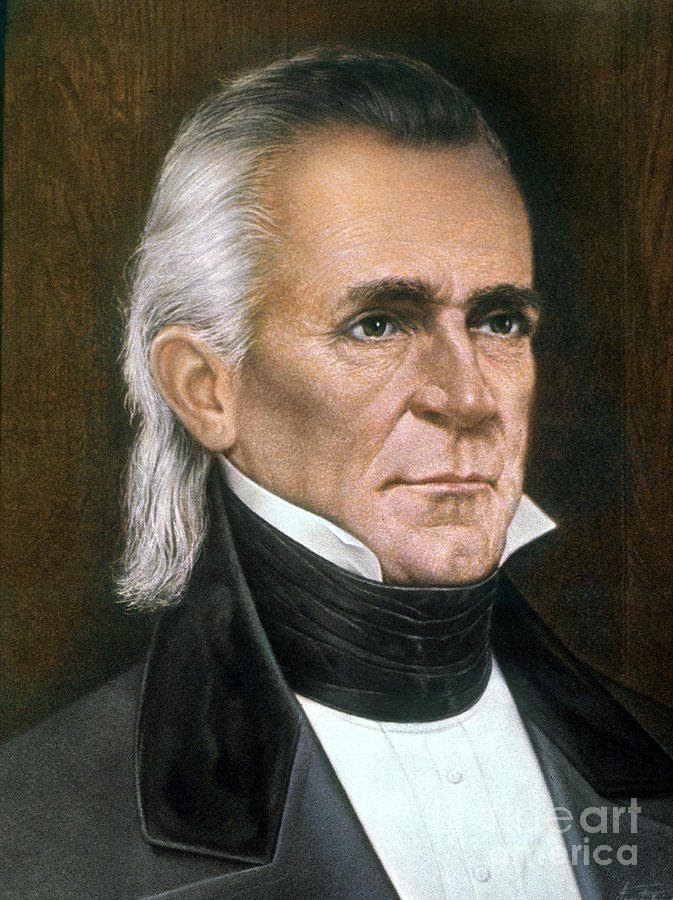James K. Polk - Election and Presidency