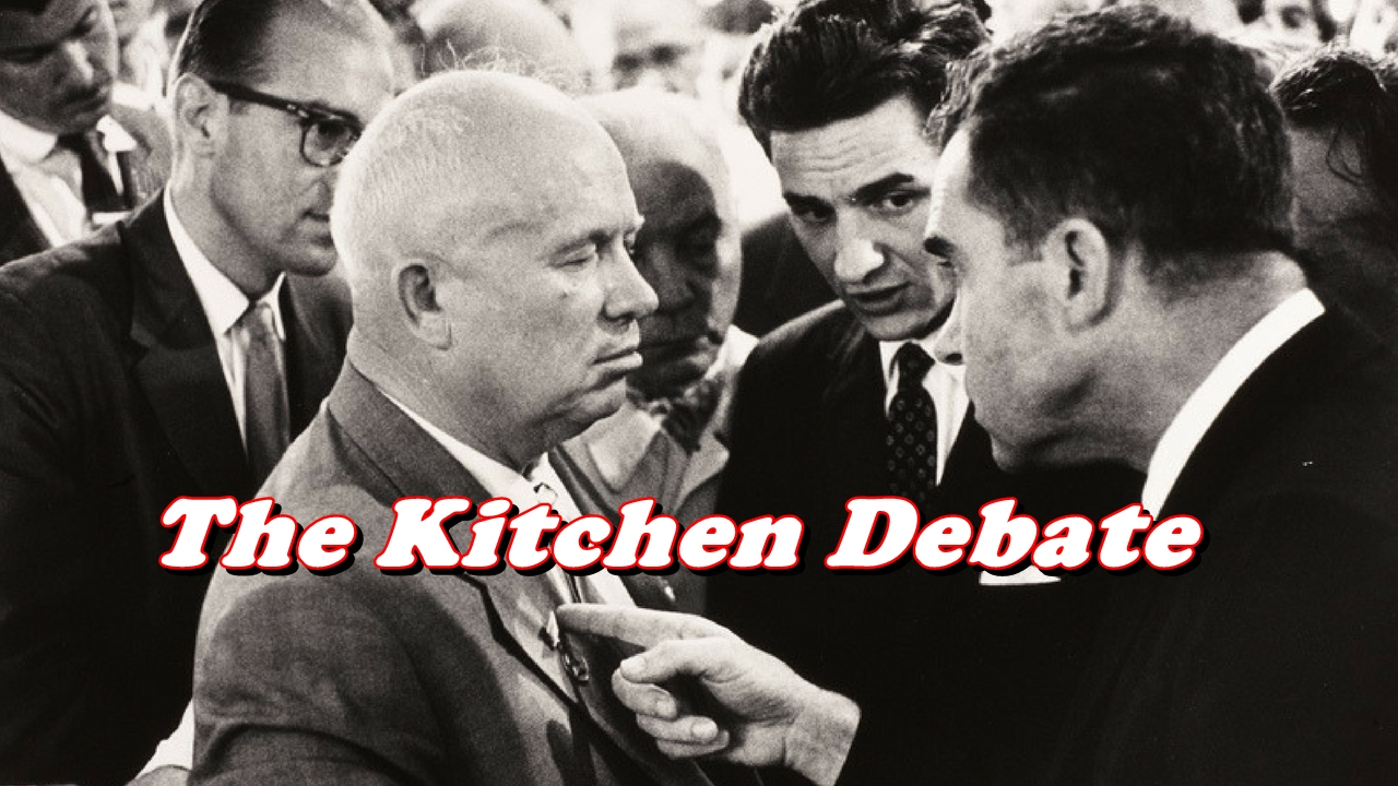 Richard Nixon - Kitchen Debate