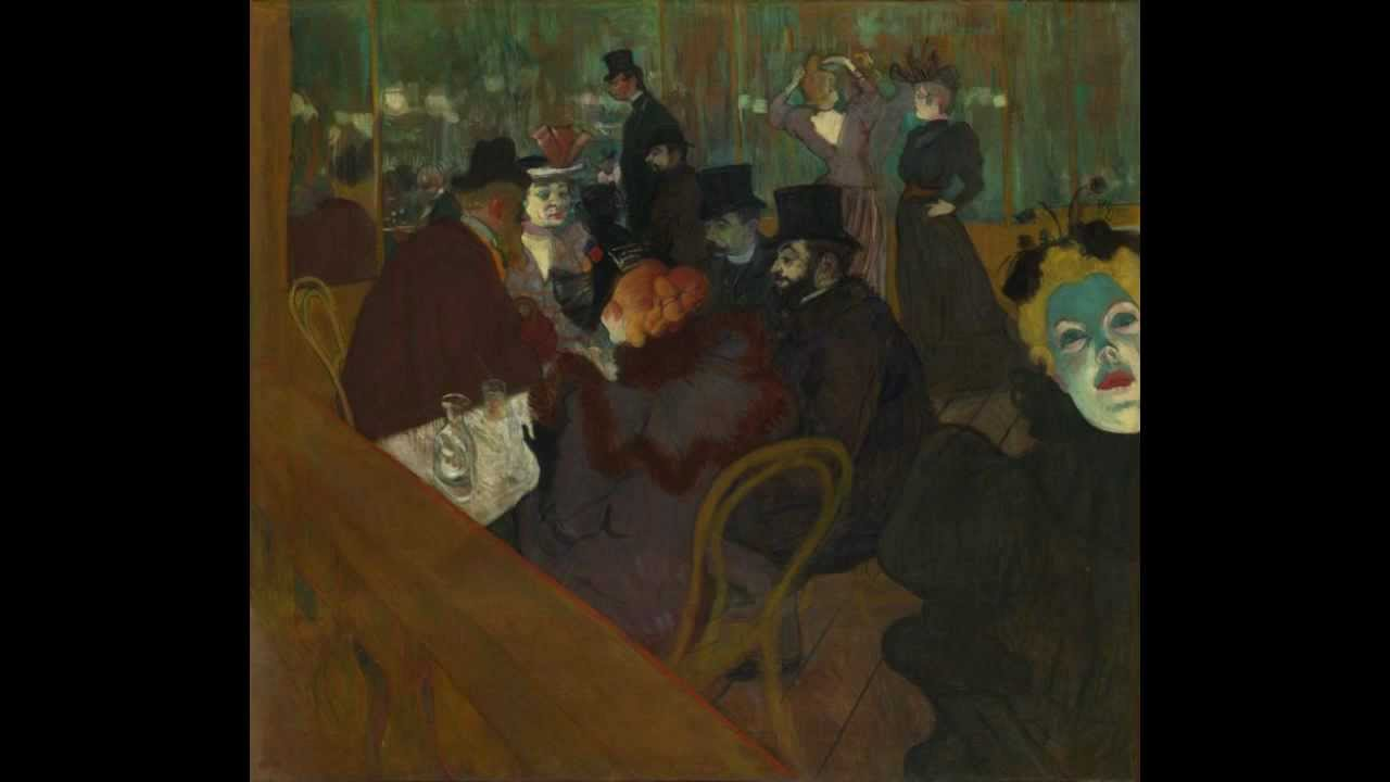 At the Moulin Rouge (lautrec)