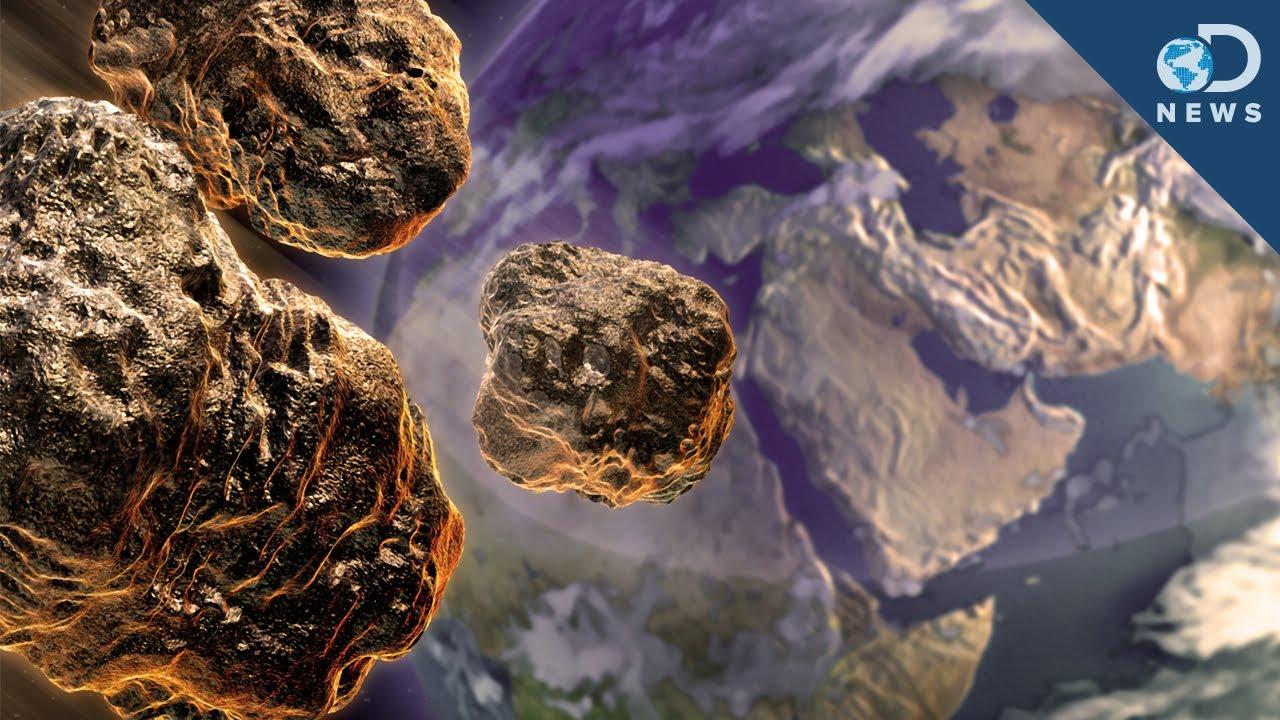 Asteroid - Past Strikes